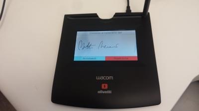 Tavoletta di firma digitale WACOM