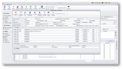 Accoglienza impegnative e ricette elettroniche direttamente da codice a barre