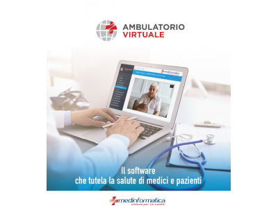 Ambulatorio Virtuale – prenotazione appuntamenti, ricette e VIDEOCONSULTO per Medici di Base